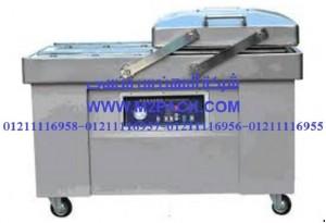 ماكينة تغليف الفاكيوم لشفط الهواء بغرفتين موديل 603 m2pack machine
